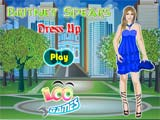 Britney Spears dress up - Juegos de vestir y maquillar competencia